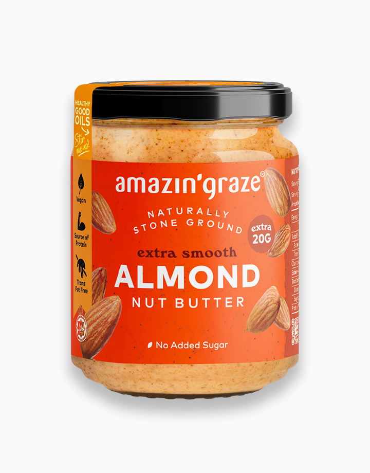 Almond Butter (Extra Smooth) by Amazin' Graze