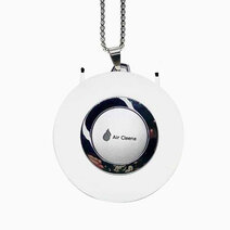 Ionic Air Purifier Necklace Version 3 in White by AirCleene