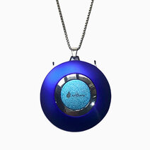 Air Purifier Necklace in Blue by AirCleene