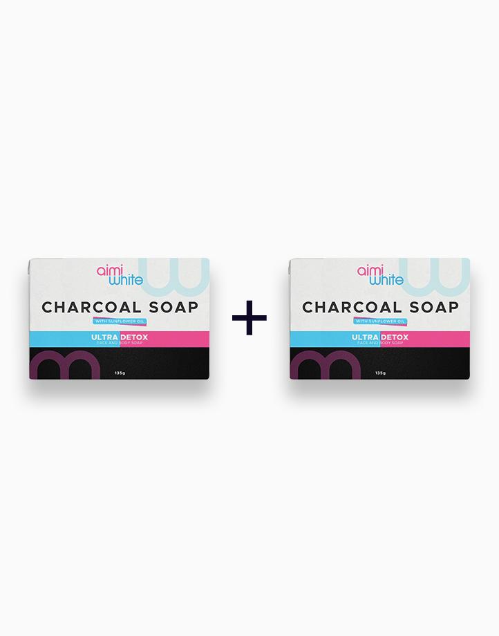 Aimi White Charcoal Soap (Buy 1, Take 1) by Aimi White