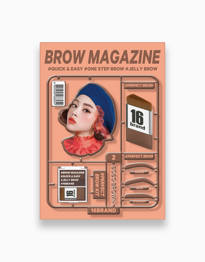 Brow Magazine by 16Brand   Coco Brown