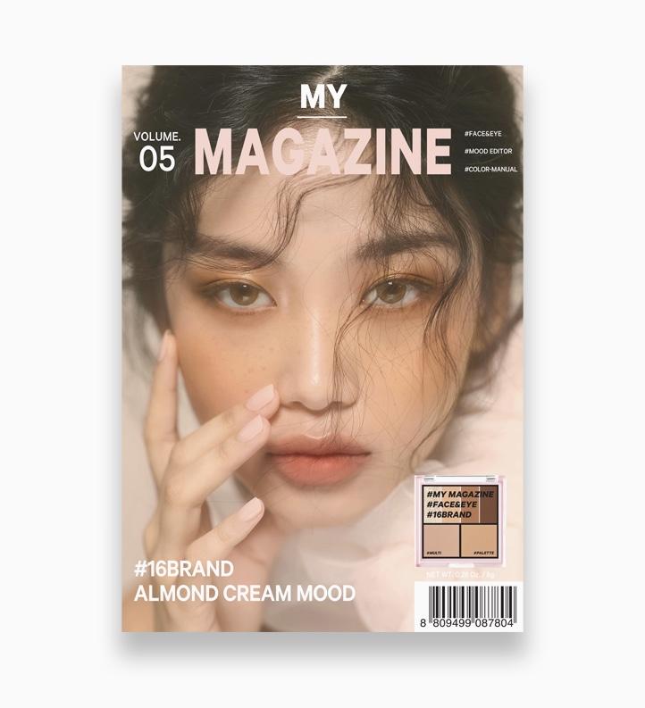 My Magazine by 16Brand   Vol. 05 Almond Cream Mood