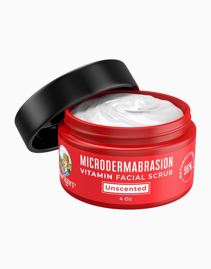 Microdermabrasion Vitamin Facial Scrub (4oz) by Mary Ruth Organics