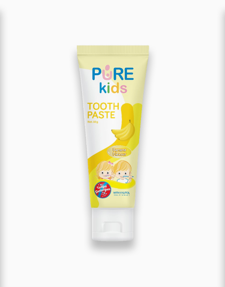 Purekids Toothpaste Banana (50g) by PureBB