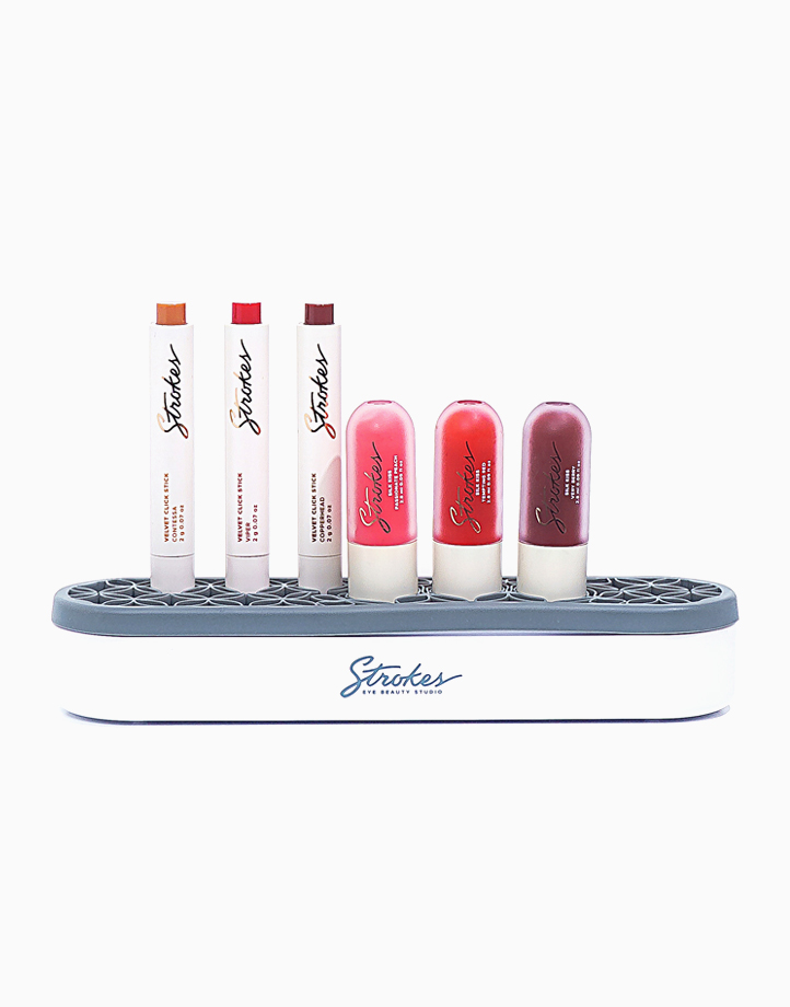 Silicone Makeup Holder by Strokes Beauty Lab