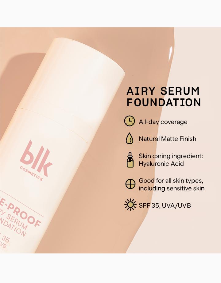 Blk cosmetics daydream life proof airy serum foundation oat 6