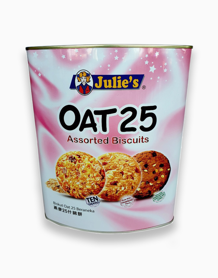 Oat 25 Assorted Biscuits (600g) by Julie's Biscuits