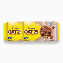 Oat 25 with Hazelnut & Chocolate Chips (200g - Pack of 2) by Julie's Biscuits
