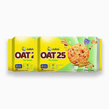Oat 25 with Ten Grains (200g - Pack of 2) by Julie's Biscuits