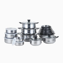 ilo 27-Piece Stainless Cookware by K Onstyle