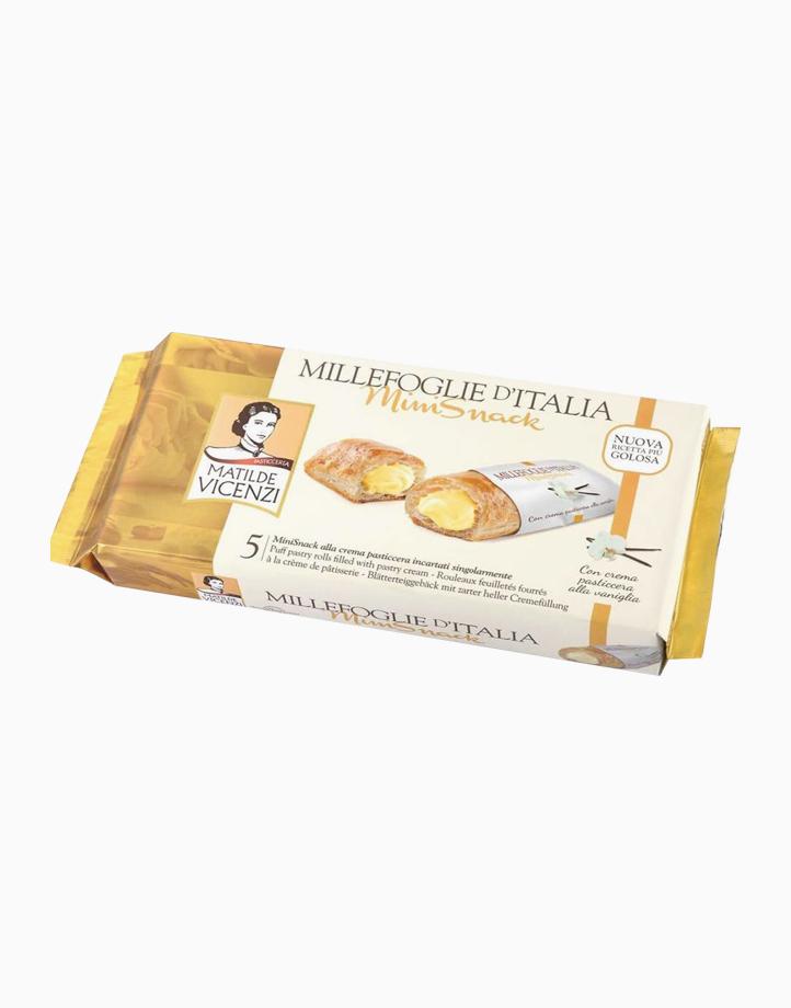 Millefoglie D' Italia Mini Snack Vanilla Cream Flavor (125g) by Matilde Vicenzi