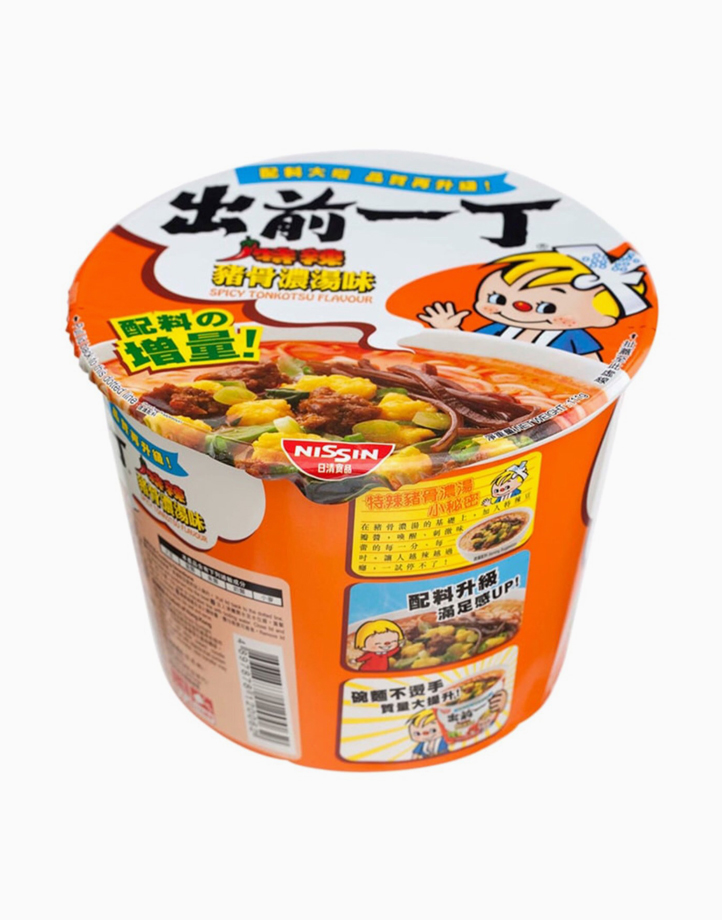 Spicy Tonkotsu Instant Noodles in Bowl (111g) by Monde Nissin