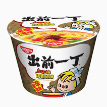 Spicy XO Sauce Seafood Flavor Instant Noodles in Bowl (111g) by Monde Nissin