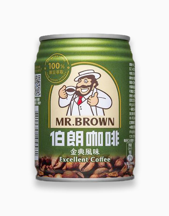 Excellent Coffee (240ml, Pack of 3) by Mr. Brown Coffee