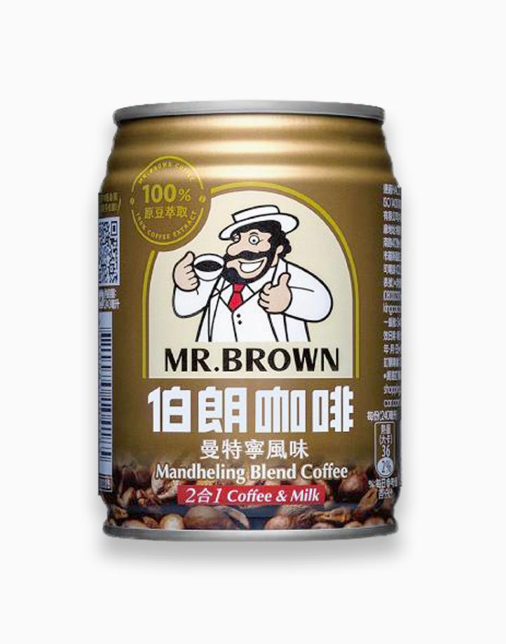 Mandheling Blend Coffee 2-in-1 Coffee & Milk (240ml, Pack of 3) by Mr. Brown Coffee