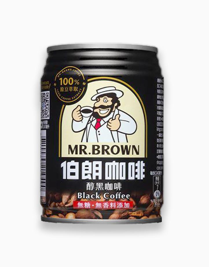 Black Coffee (240ml, Pack of 3) by Mr. Brown Coffee