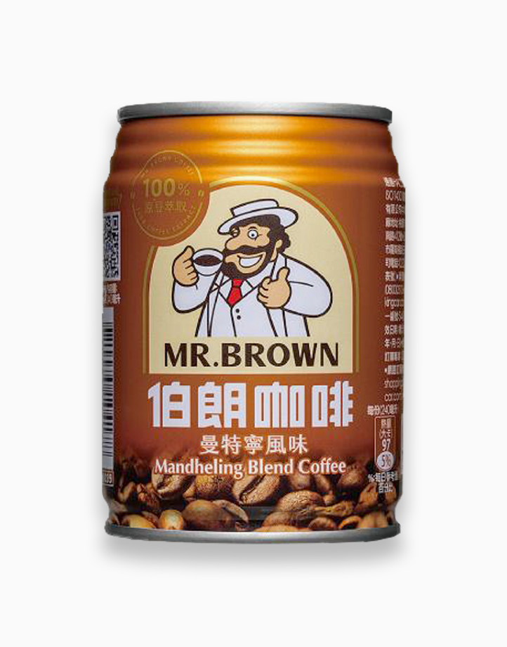 Mandheling Blend Coffee (240ml, Pack of 3) by Mr. Brown Coffee