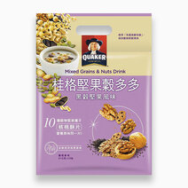 Mixed Grains & Nuts Drink Black Valley Nut Flavor (31g x 10) by Quaker