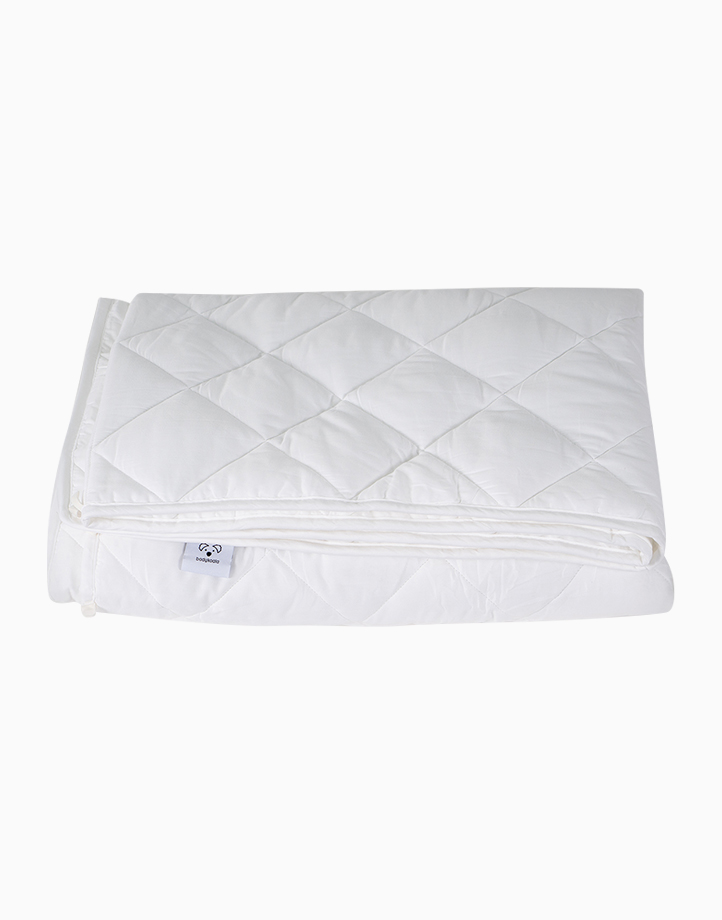 Weighted Blanket - Queen Size With Fleece Cover (10 lbs.) by Body Koala