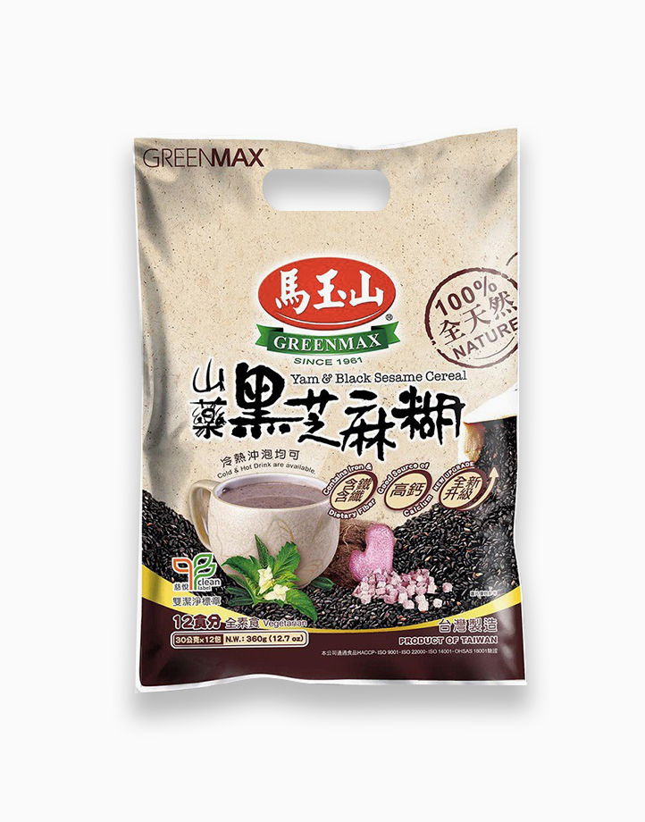 Yam & Black Sesame Cereal (30g x 12) by Greenmax