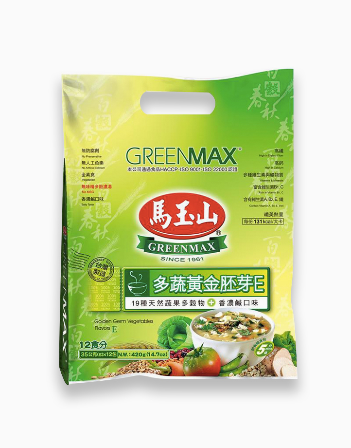Golden Germ Vegetable Flavors (35g x 12) by Greenmax