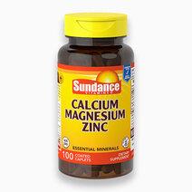 Calcium, Magnesium, Zinc (100 Tabs) by Sundance Vitamins