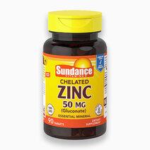 Chelated Zinc 50mg (90 Tabs) by Sundance Vitamins