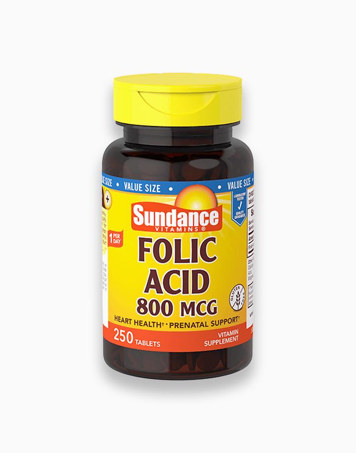 Folic Acid 800mcg (250 Tablets) by Sundance Vitamins