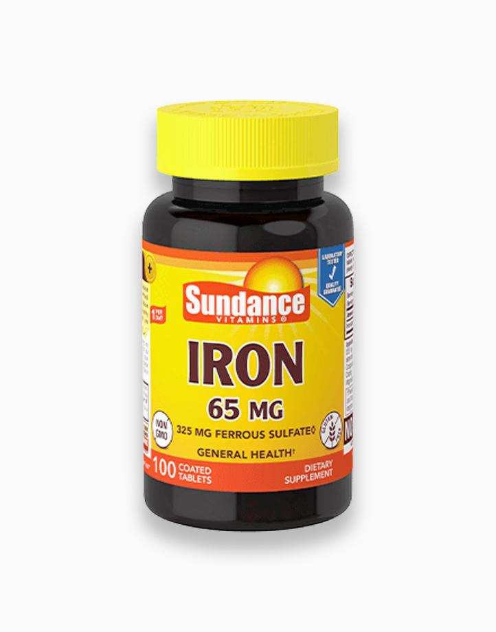 Iron 65mg (100 Tablets) by Sundance Vitamins