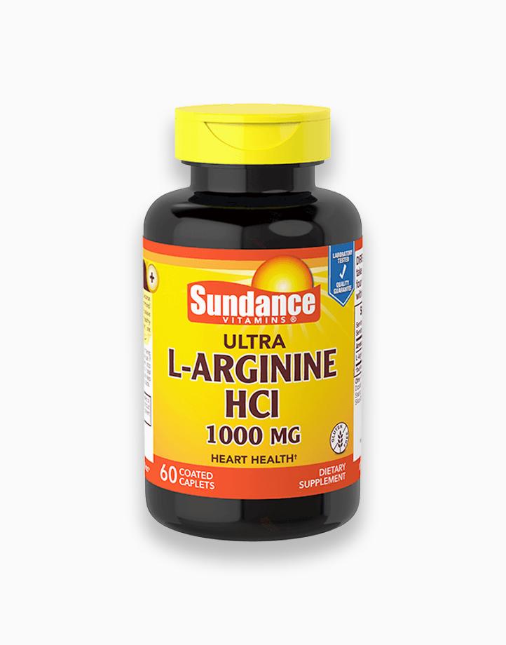 L-Arginine HCL 1000mg 60 Tablets by Sundance Vitamins