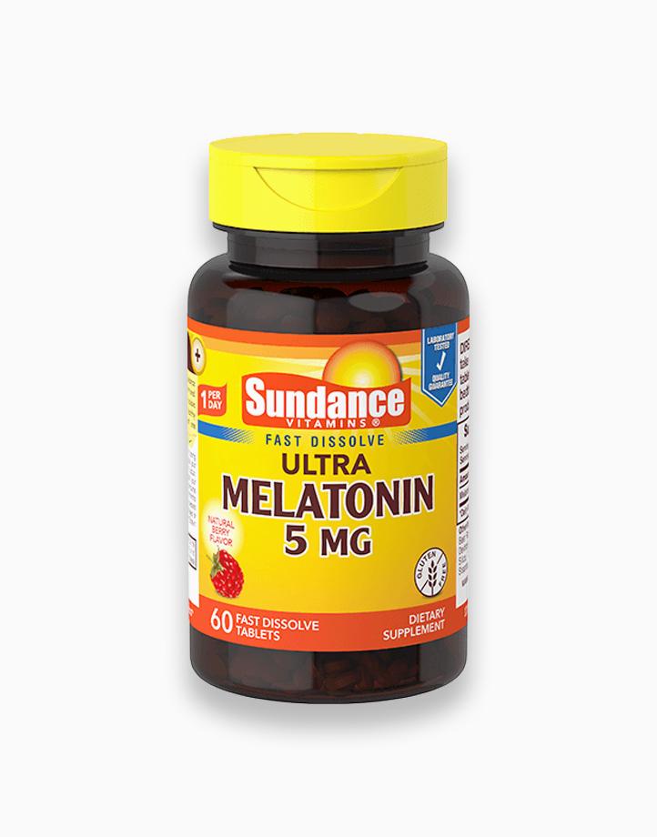 Melatonin 5mg 60 Fast Dissolve Tablets by Sundance Vitamins