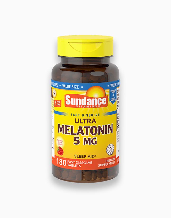 Melatonin 5mg 180 Fast Dissolve Tablets by Sundance Vitamins