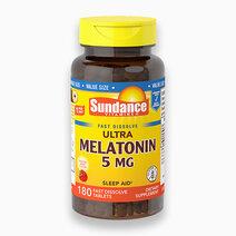 Melatonin 5mg - Fast Dissolve (180 Tabs) by Sundance Vitamins