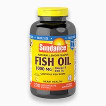 Natural Lemon Fish Oil 1000mg (200 Softgels) by Sundance Vitamins