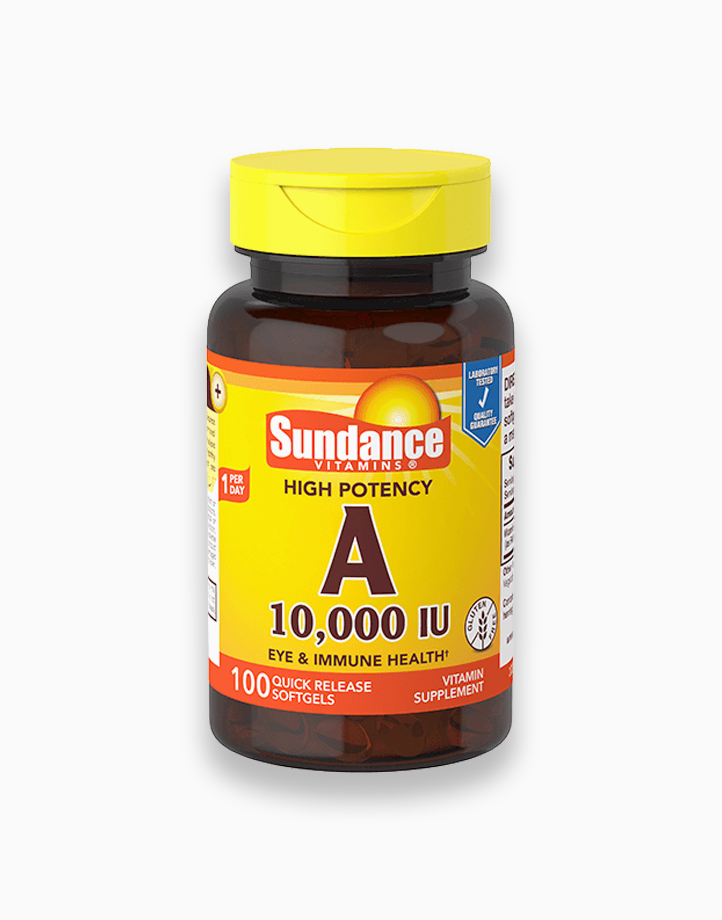 Vitamin A 10,000 IU (100 Softgels) by Sundance Vitamins