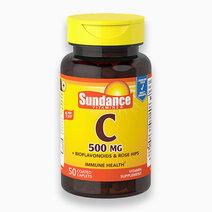 Vitamin C 500mg w/ Bioflavonoids & Rosehips (50 Tabs) by Sundance Vitamins