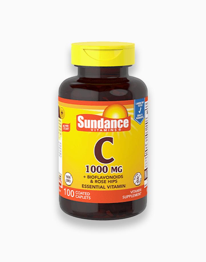 Vitamin C 1000mg with Bioflavonoids & Rosehips 100 Caplets by Sundance Vitamins
