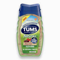 Antacid Naturals Black Cherry and Watermelon - Ultra Strength 1000 by Tums