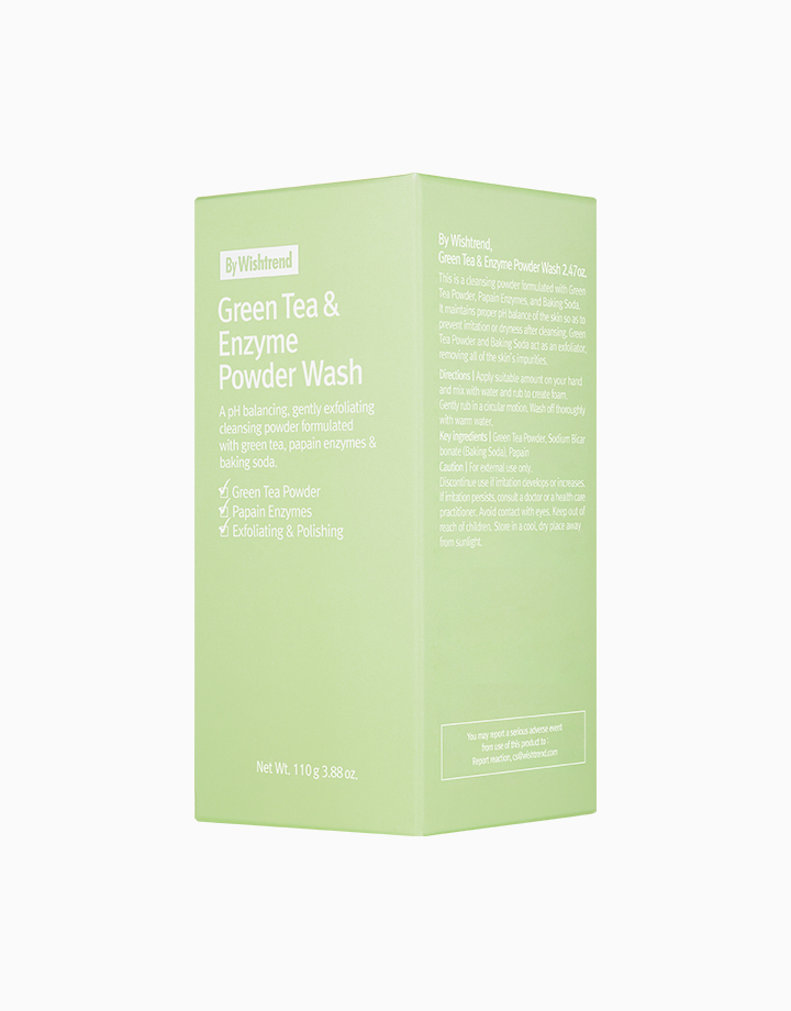 Green Tea & Enzyme Powder Wash by By Wishtrend