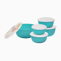 Edgo Store It 5-Piece Food Container Set by K Onstyle