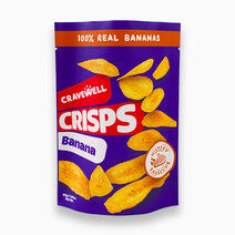 Banana Crisps in Hickory Barbecue (45g) by Cravewell