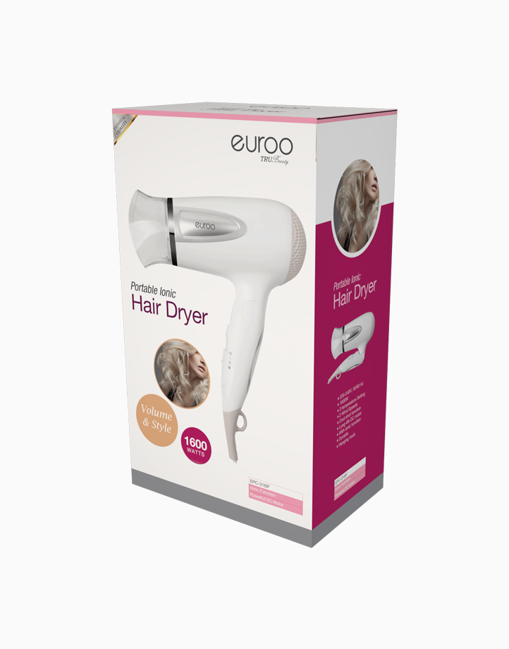 Ionic Hair Dryer by Euroo