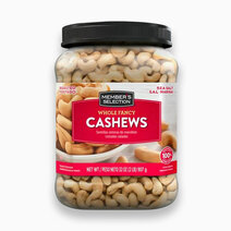 Roasted & Salted Whole Fancy Cashews (32oz) by Member's Selection