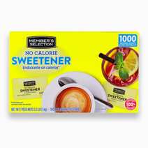No Calorie Sweetener (1000 packets - 1kg) by Member's Selection