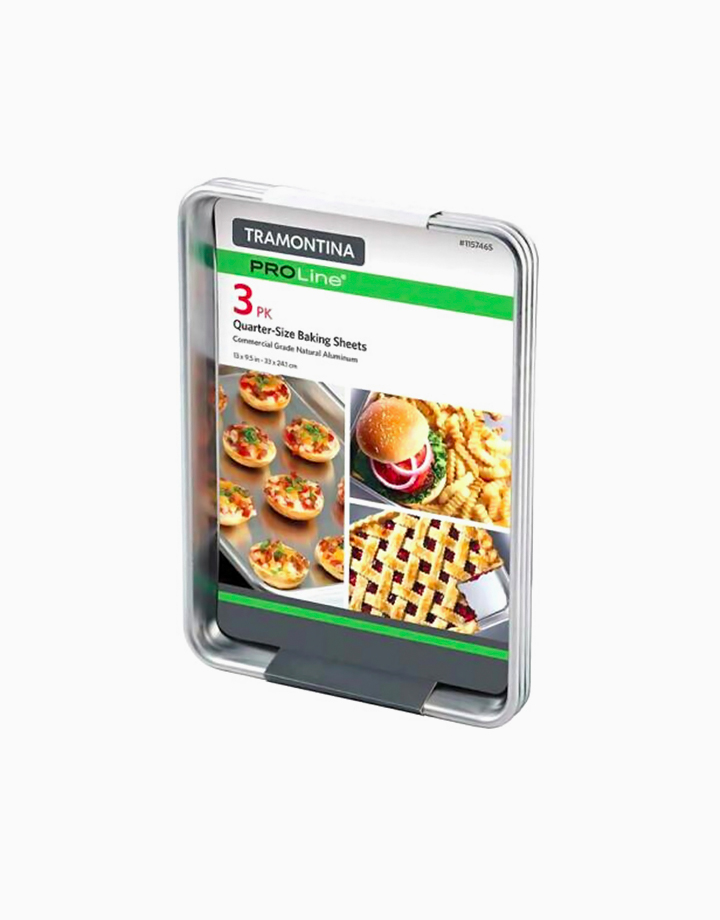 Proline Quarter Size Baking Sheets (3pc) by Tramontina