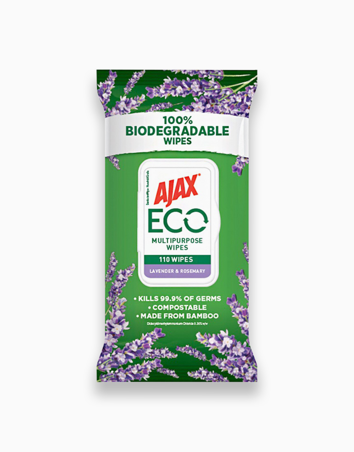 Multipurpose Wipes Lavender & Rosemary Scent (110 Wipes) by Ajax