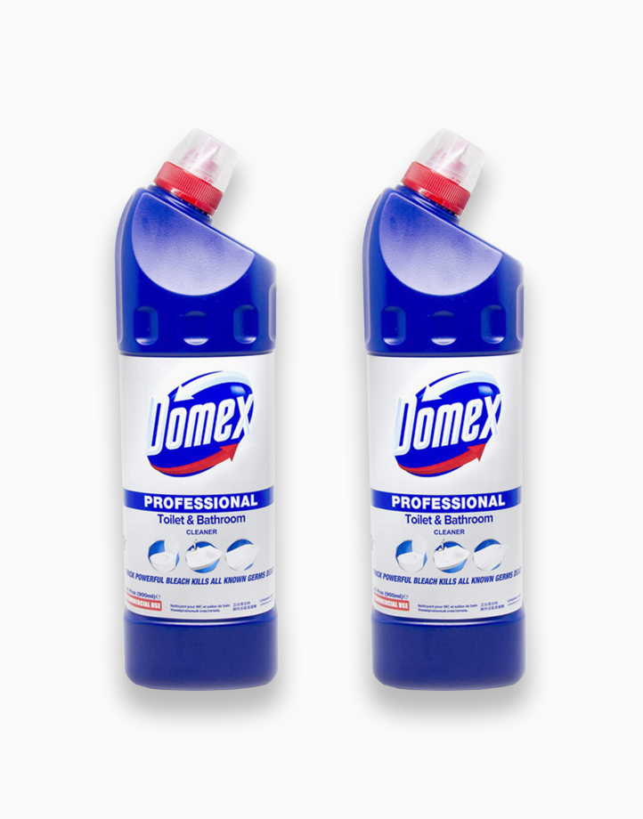 Professional Toilet & Bathroom Cleaner (Pack of 2) by Domex