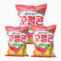 Sweet Corn Chips (Savory) (Pack of 3) by Lotte