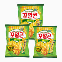 Sweet Corn Chips (Glutinous Corn) (Pack of 3) by Lotte