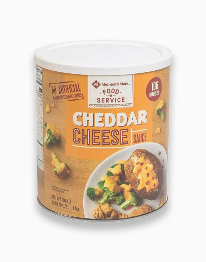 Food Service Cheddar Cheese Sauce (106oz - 3.01kg) by Member's Mark